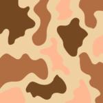 Camuflado marron